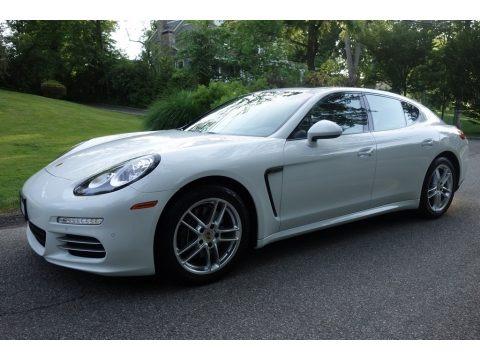 White 2014 Porsche Panamera 4