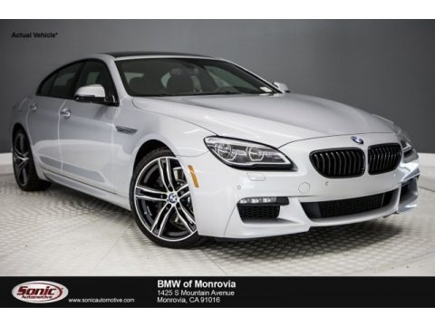 Glacier Silver Metallic 2018 BMW 6 Series 640i Gran Coupe