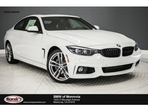 Alpine White 2018 BMW 4 Series 440i Coupe