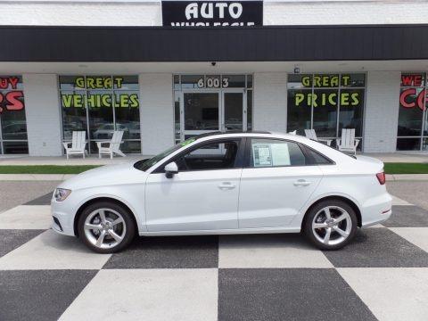 Glacier White Metallic 2015 Audi A3 1.8 Premium