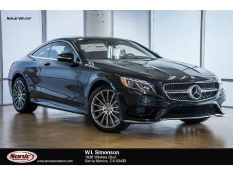 Black 2017 Mercedes-Benz S 550 4Matic Coupe