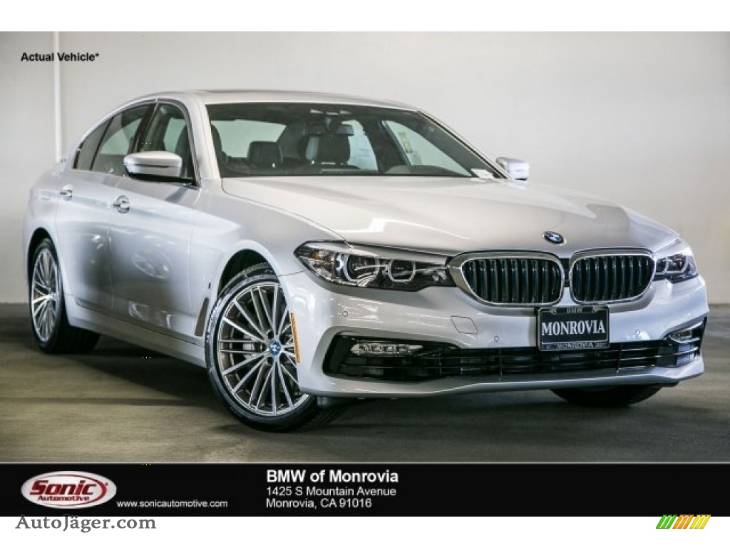 2018 bmw 5 series 530e iperfomance sedan in glacier silver metallic 623178 auto j ger. Black Bedroom Furniture Sets. Home Design Ideas