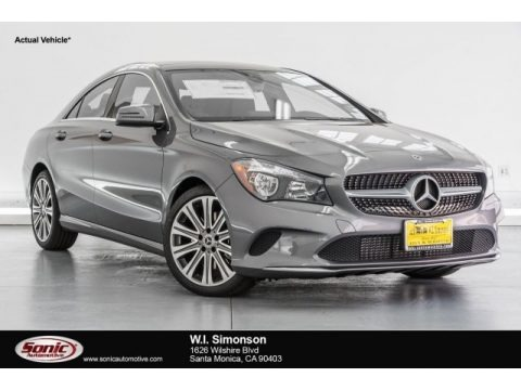 Mountain Grey Metallic 2018 Mercedes-Benz CLA 250 Coupe