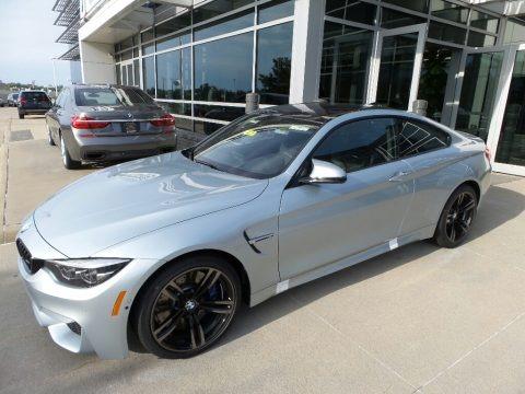 Silverstone Metallic 2018 BMW M4 Coupe