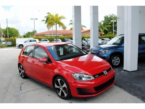 Tornado Red 2015 Volkswagen Golf GTI 4-Door 2.0T S