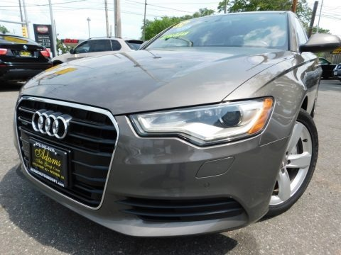 Quartz Gray Metallic 2012 Audi A6 3.0T quattro Sedan
