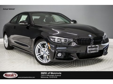 Black Sapphire Metallic 2018 BMW 4 Series 440i Coupe