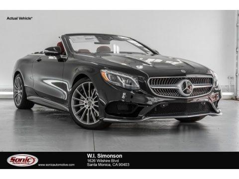 Magnetite Black Metallic 2017 Mercedes-Benz S 550 Cabriolet