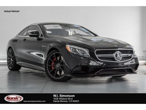 Black 2017 Mercedes-Benz S 63 AMG 4Matic Coupe