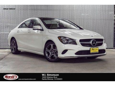 Cirrus White 2018 Mercedes-Benz CLA 250 Coupe