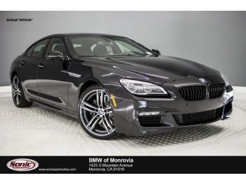 Black Sapphire Metallic 2018 BMW 6 Series 640i Gran Coupe