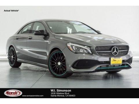 Mountain Grey Metallic 2017 Mercedes-Benz CLA 250 4Matic Coupe