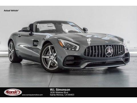 Selenite Grey Metallic 2018 Mercedes-Benz AMG GT Roadster