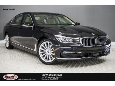Black Sapphire Metallic 2018 BMW 7 Series 740i Sedan