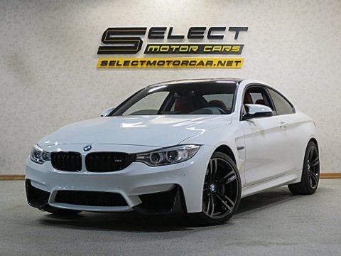 Alpine White 2015 BMW M4 Coupe