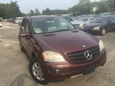 Barolo Red Metallic 2006 Mercedes-Benz ML 350 4Matic