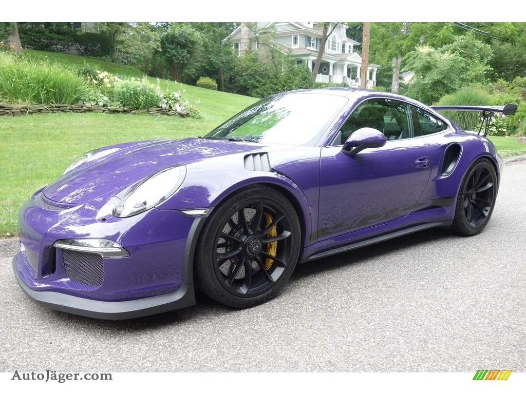 Ultraviolet / Black Porsche 911 GT3 RS