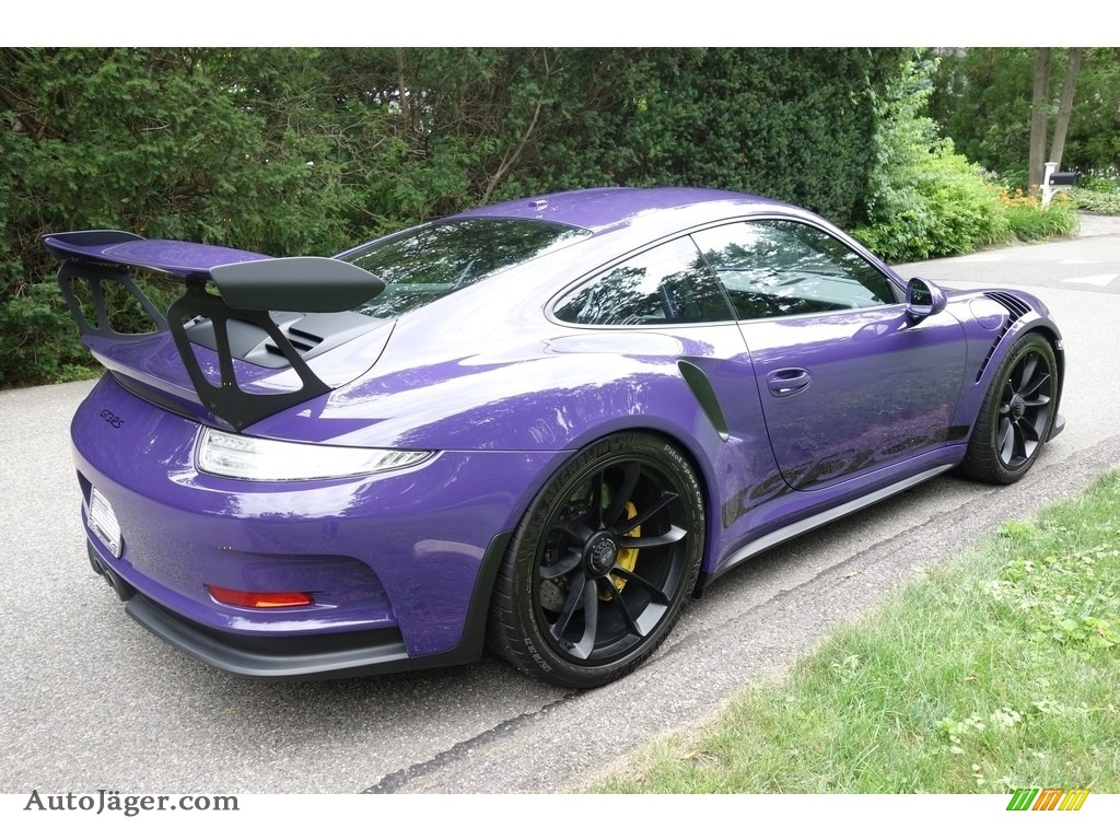 2016 911 GT3 RS - Ultraviolet / Black photo #6