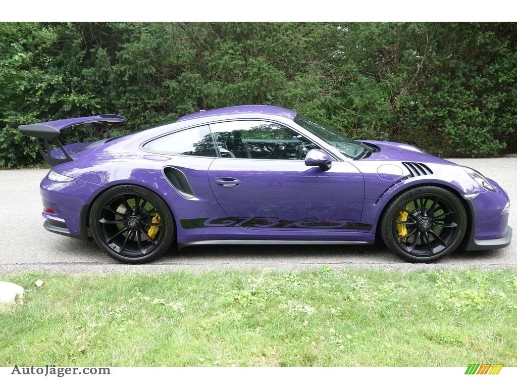 2016 911 GT3 RS - Ultraviolet / Black photo #7