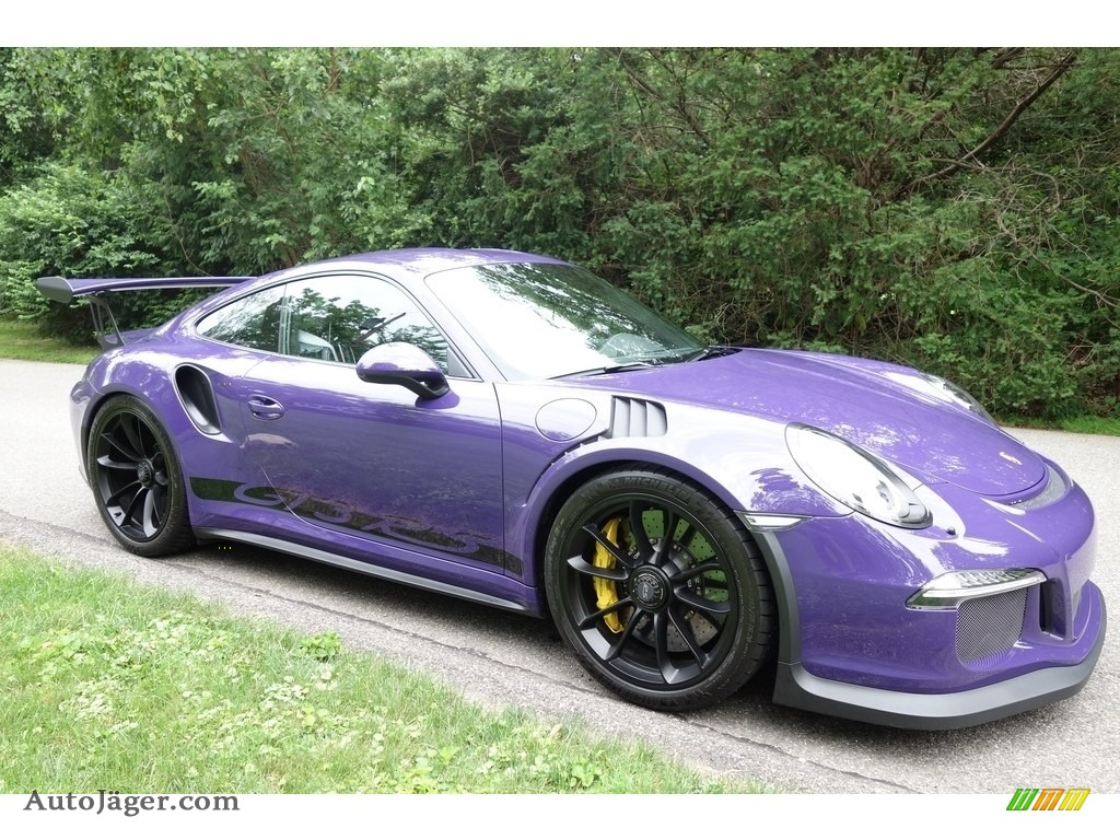 2016 911 GT3 RS - Ultraviolet / Black photo #8