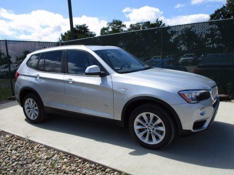 Glacier Silver Metallic 2017 BMW X3 xDrive28i