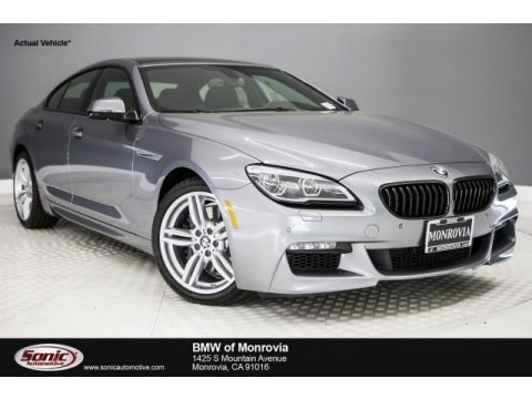 Space Gray Metallic 2018 BMW 6 Series 640i Gran Coupe