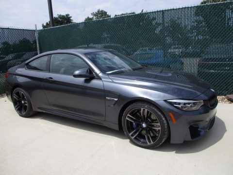 Mineral Grey Metallic 2018 BMW M4 Coupe