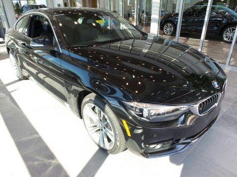 Black Sapphire Metallic 2018 BMW 4 Series 440i xDrive Coupe