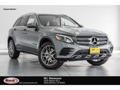 Selenite Grey Metallic 2017 Mercedes-Benz GLC 300