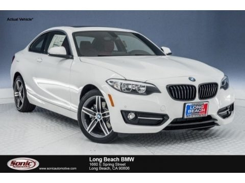 Alpine White 2017 BMW 2 Series 230i Coupe