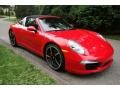 Porsche 911 Targa 4S Guards Red photo #8