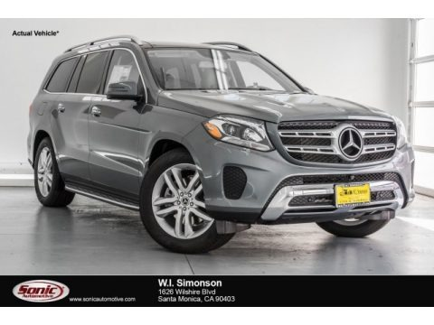 Selenite Grey Metallic 2017 Mercedes-Benz GLS 450 4Matic