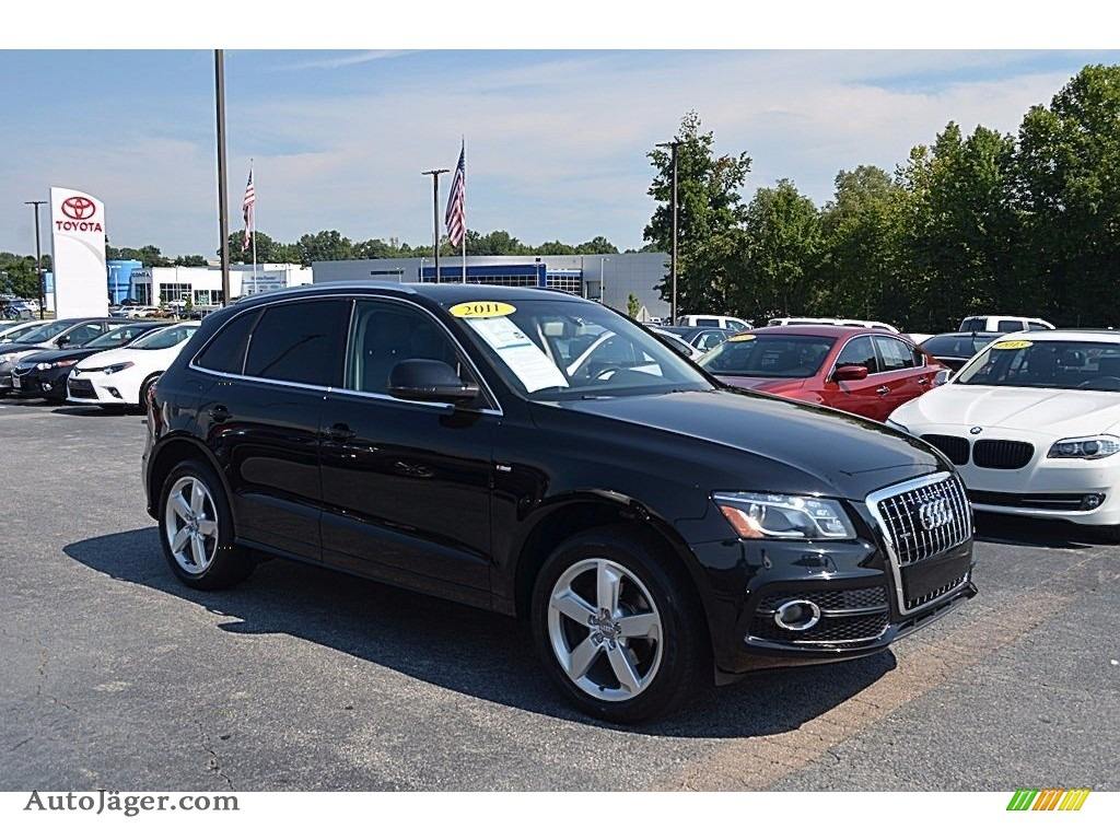 2011 Q5 3.2 quattro - Brilliant Black / Black photo #1