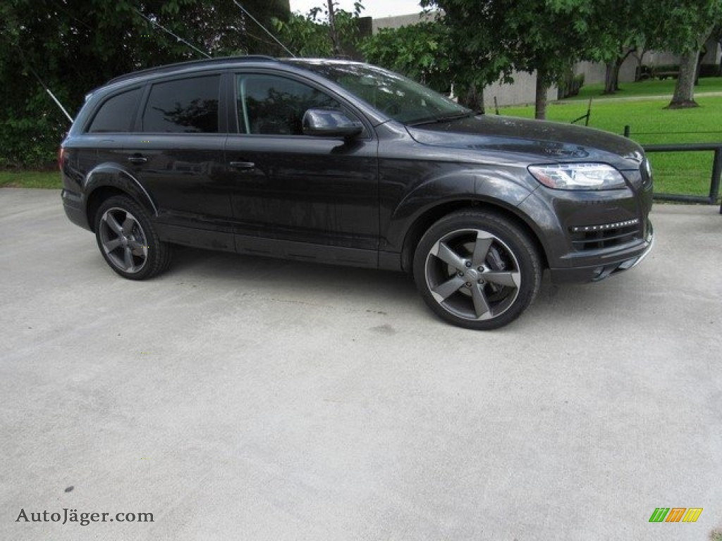 Daytona Gray Metallic / Black Audi Q7 3.0 Premium Plus quattro