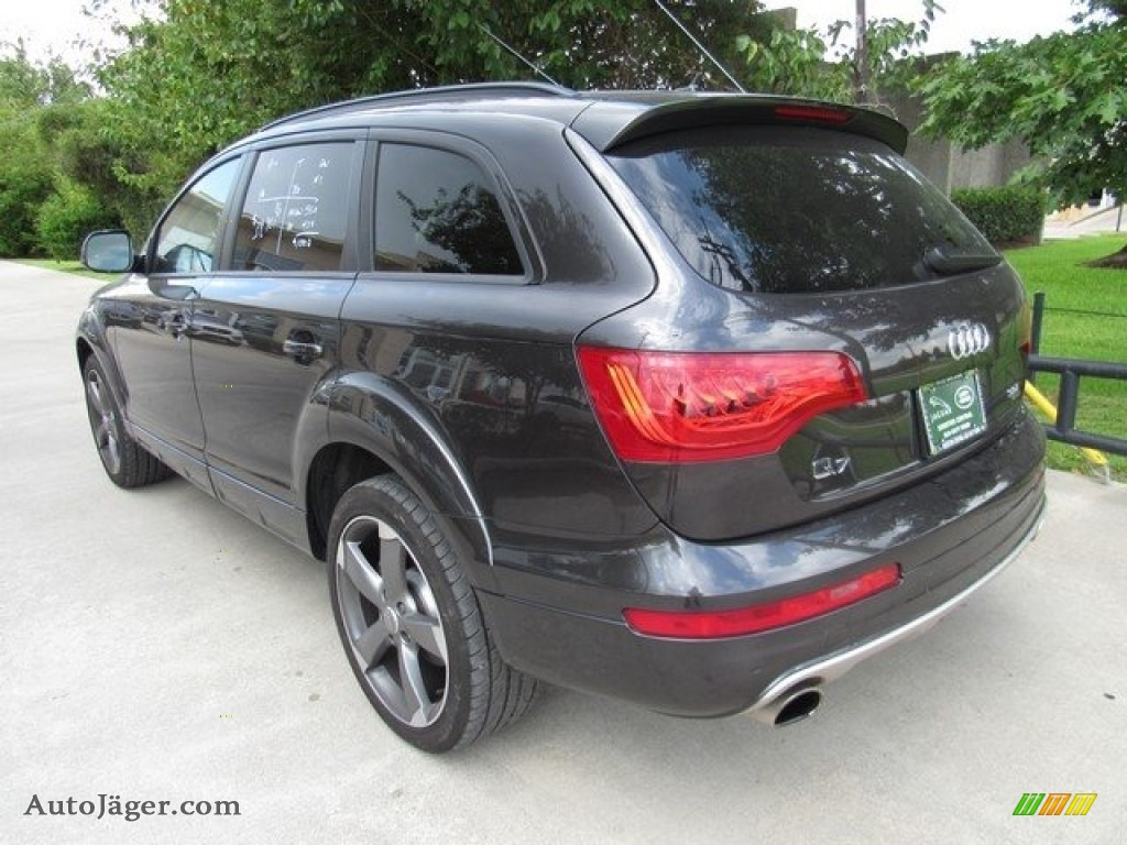 2015 Q7 3.0 Premium Plus quattro - Daytona Gray Metallic / Black photo #12