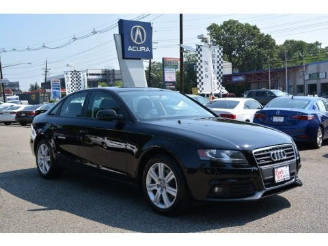 Brilliant Black 2011 Audi A4 2.0T quattro Sedan
