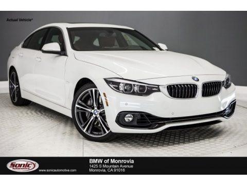 Mineral White Metallic 2018 BMW 4 Series 440i Gran Coupe
