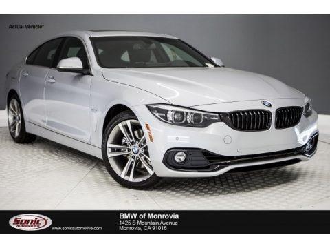 Glacier Silver Metallic 2018 BMW 4 Series 430i Gran Coupe