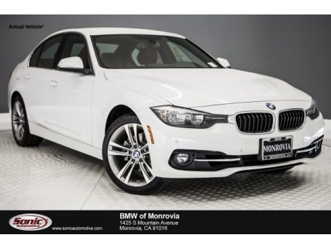 Mineral White Metallic 2017 BMW 3 Series 330i Sedan