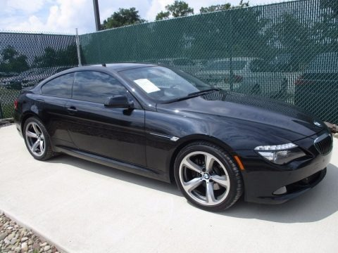 Black Sapphire Metallic 2010 BMW 6 Series 650i Coupe