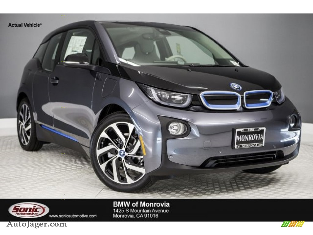 2017 i3 with Range Extender - Mineral Grey Metallic / Mega Carum Spice Grey/Carum Spice Grey photo #1