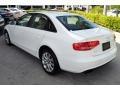 Audi A4 2.0T quattro Sedan Ibis White photo #6