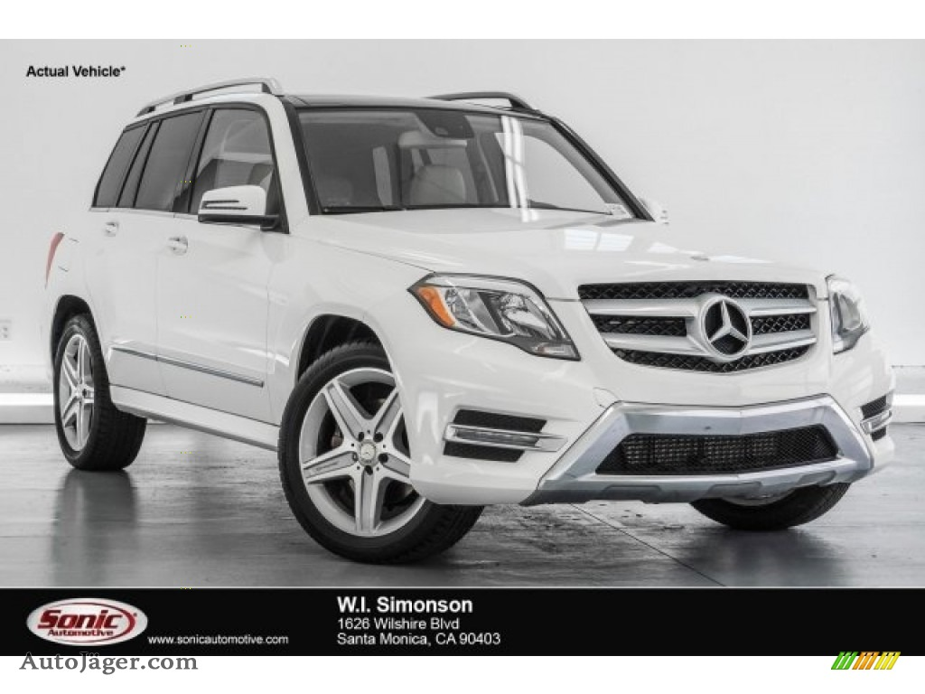 2015 GLK 250 BlueTEC 4Matic - Polar White / Sahara Beige/Mocha photo #1