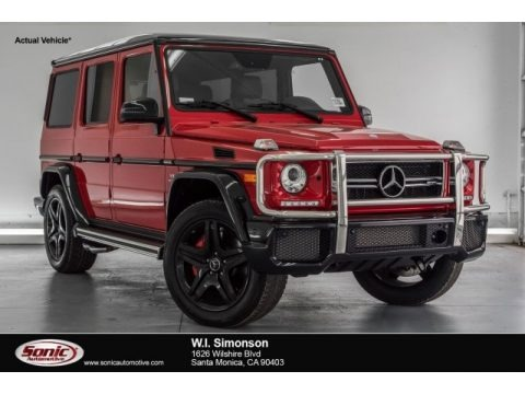 designo Manufaktur Magma Red 2017 Mercedes-Benz G 63 AMG