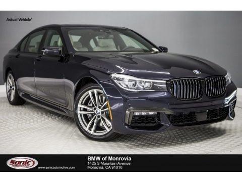 Carbon Black Metallic 2018 BMW 7 Series 740i xDrive Sedan
