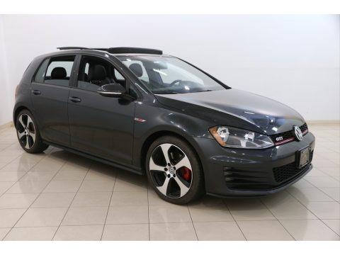 Carbon Steel Metallic 2015 Volkswagen Golf GTI 4-Door 2.0T Autobahn