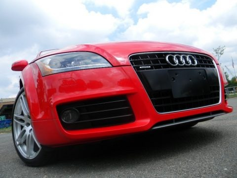 Brilliant Red 2008 Audi TT 3.2 quattro Coupe