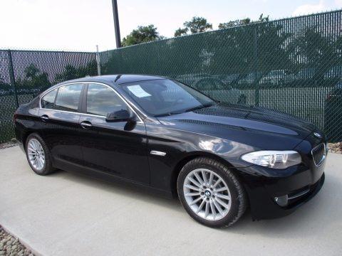 Black Sapphire Metallic 2013 BMW 5 Series 535i xDrive Sedan