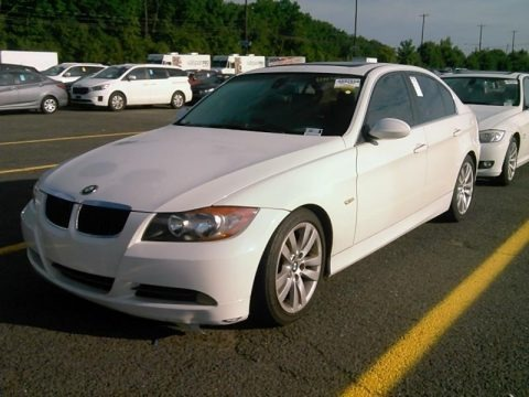 Alpine White 2006 BMW 3 Series 325i Sedan