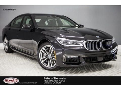 Black Sapphire Metallic 2018 BMW 7 Series 750i Sedan